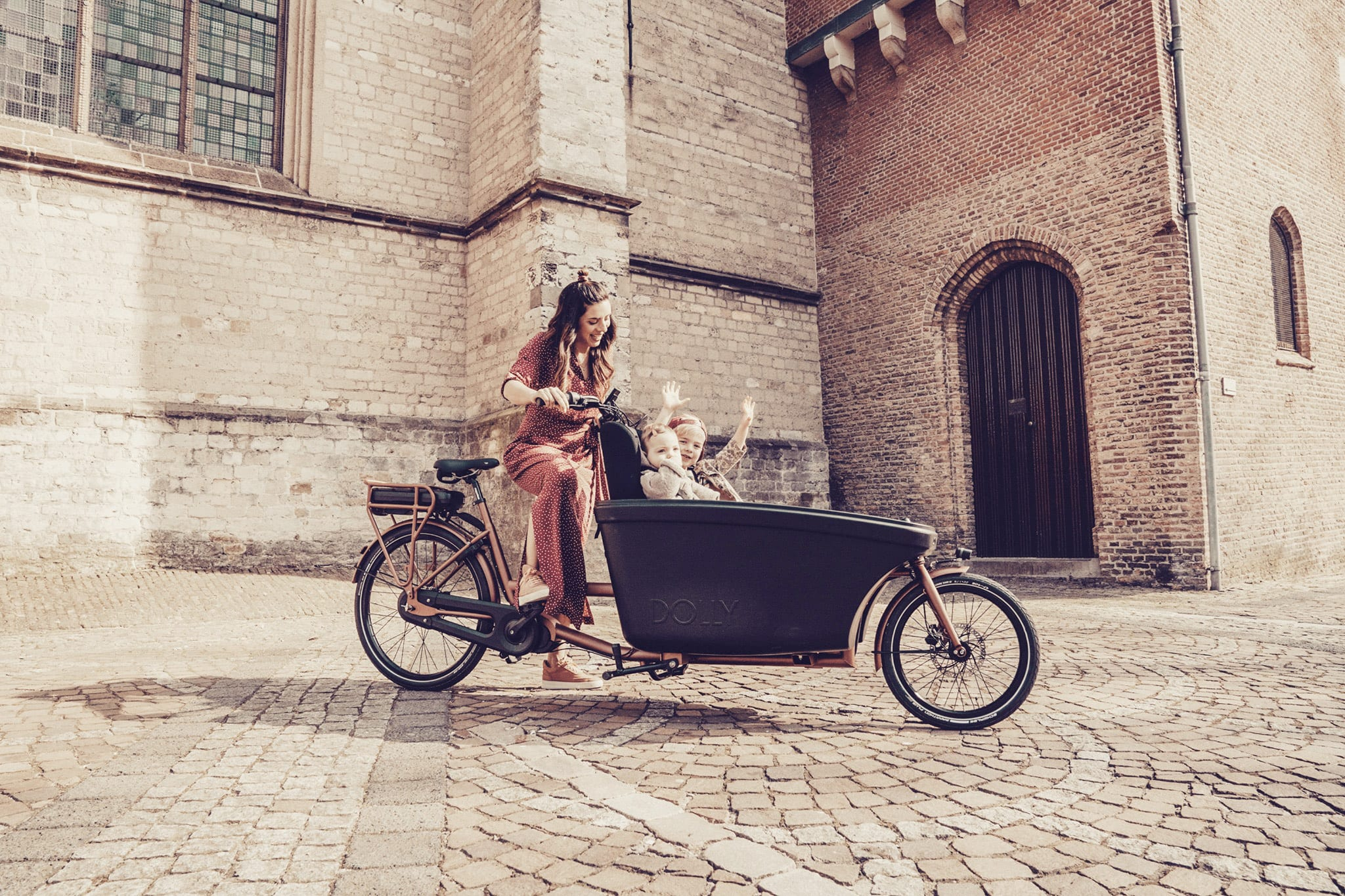 Elektrische bakfiets Dolly